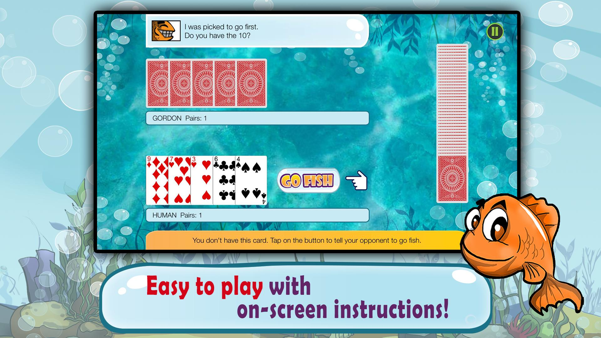 Go Fish Kids Card Game (Free) 1.22 Screenshot 3