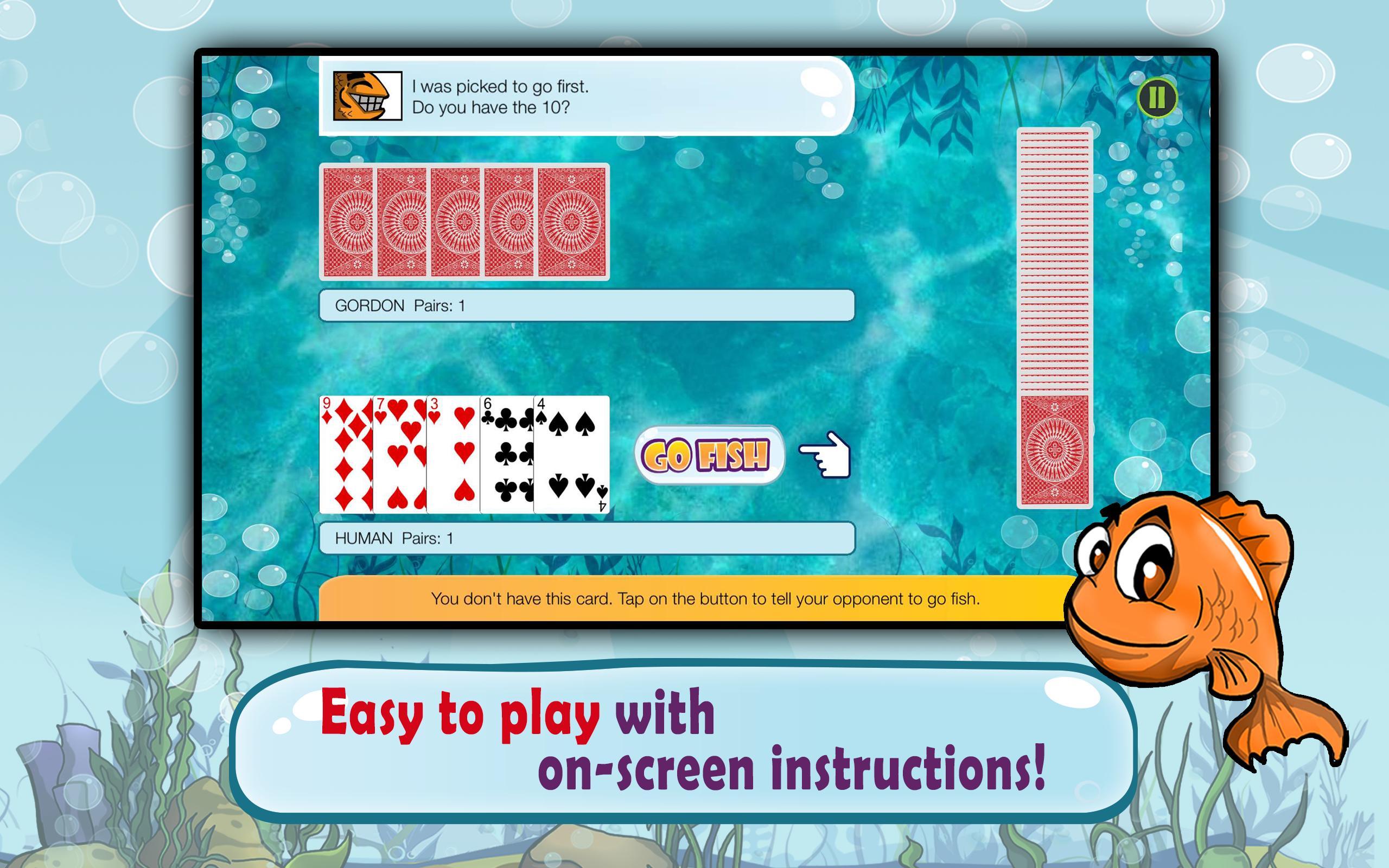 Go Fish Kids Card Game (Free) 1.22 Screenshot 6