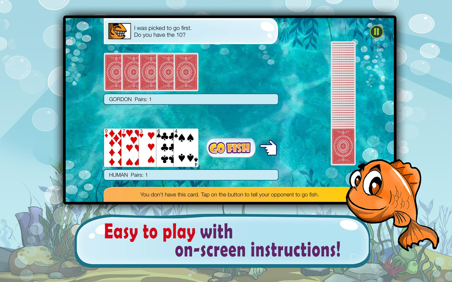 Go Fish Kids Card Game (Free) 1.22 Screenshot 9