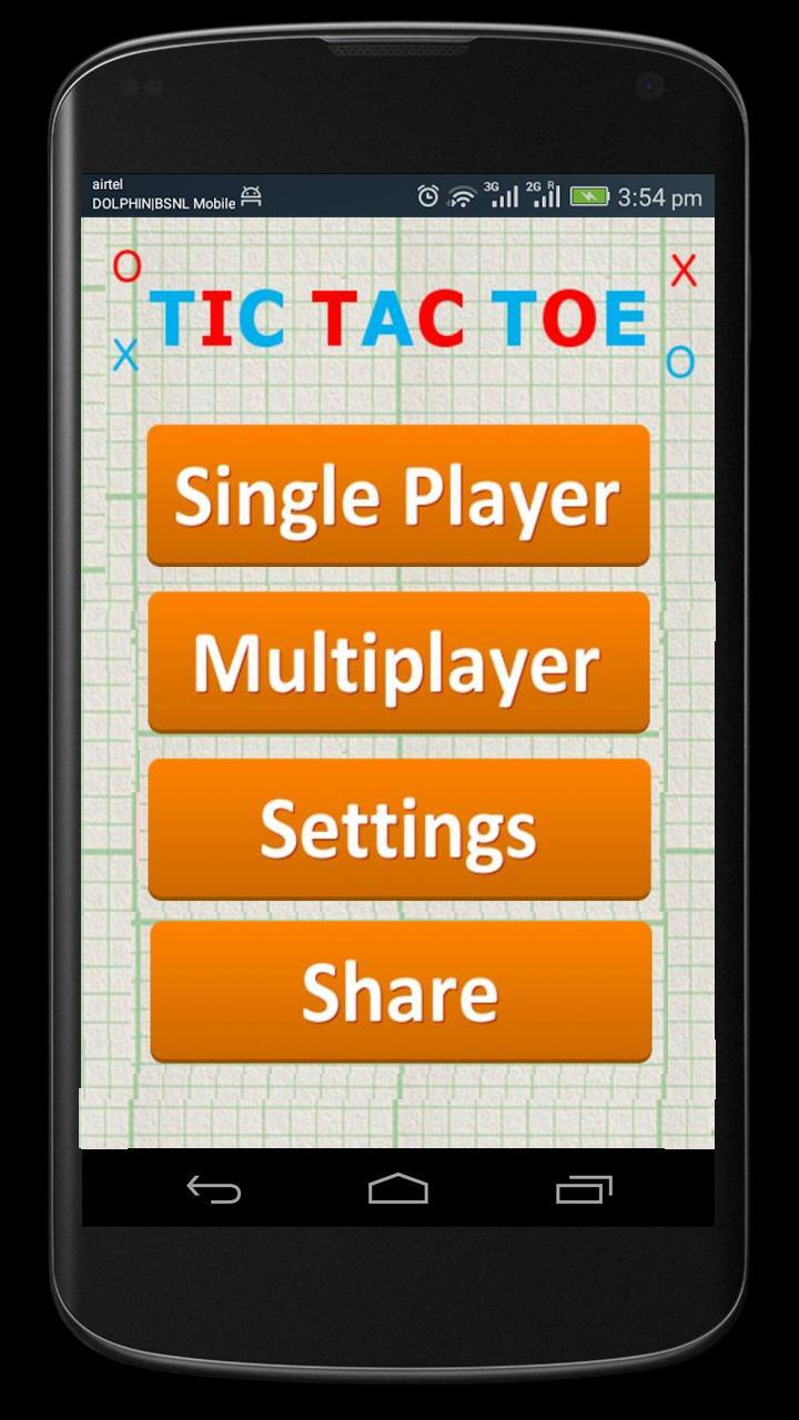 Tic Tac Toe 1.0.9 Screenshot 2