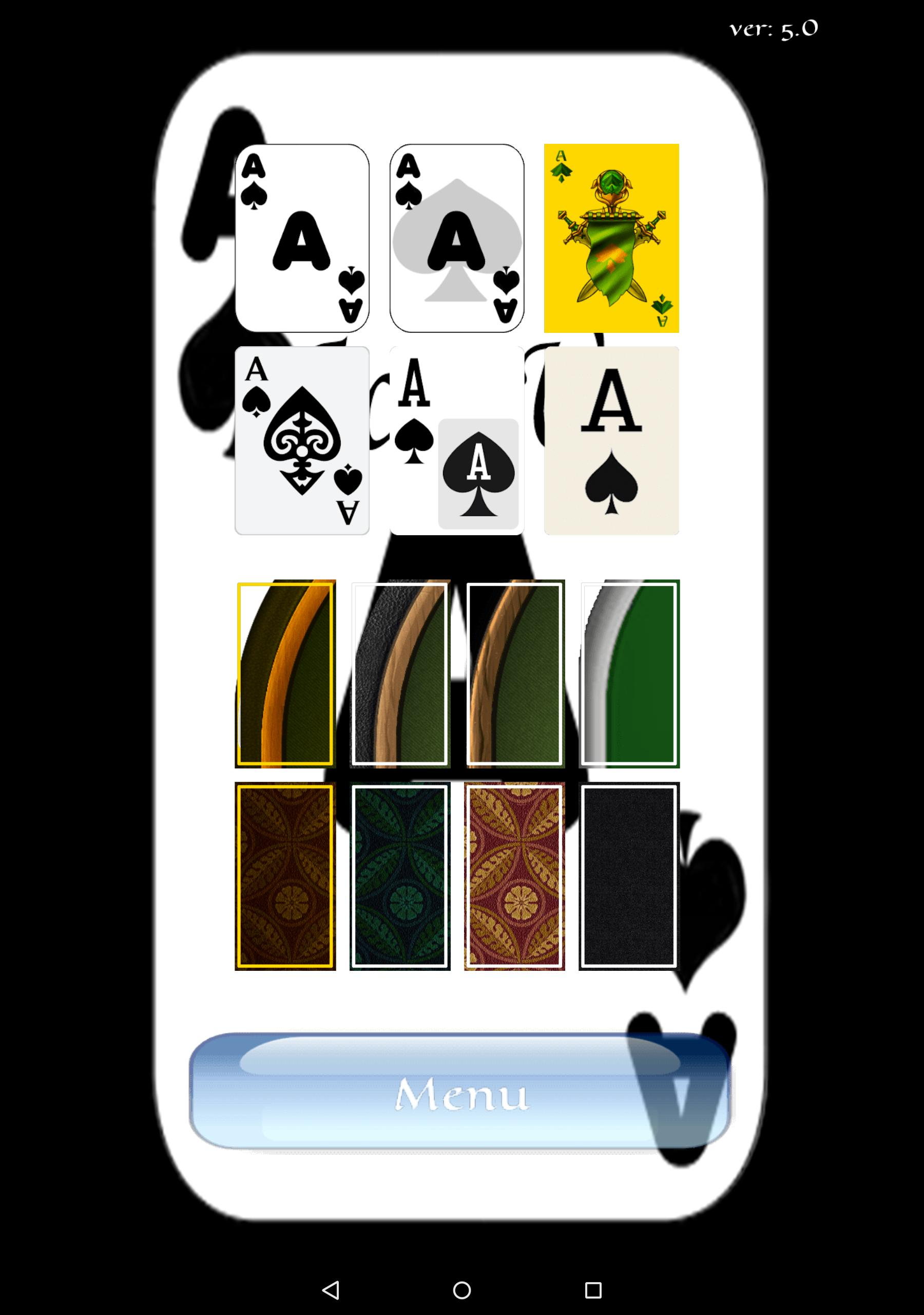 Aces Up Solitaire 5.4 Screenshot 10