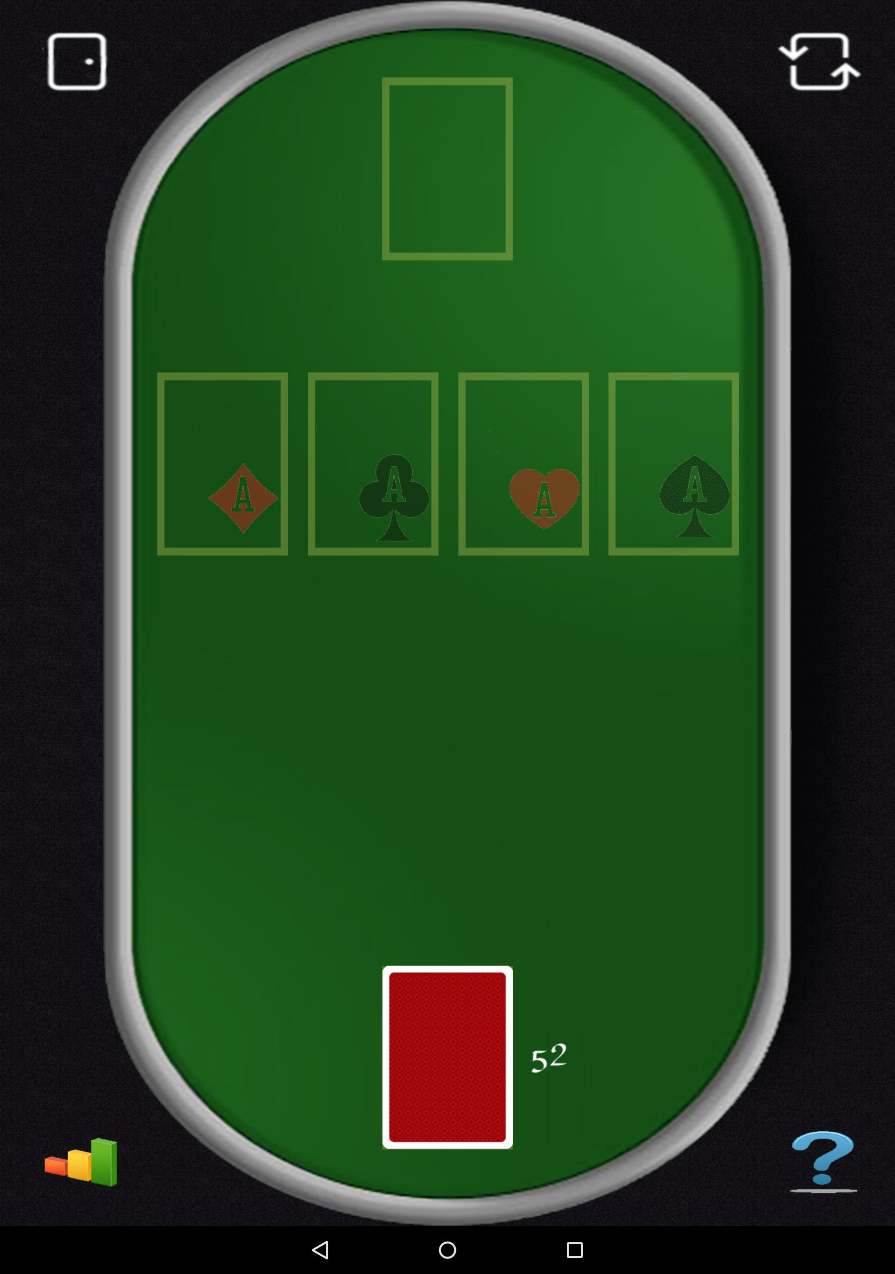 Aces Up Solitaire 5.4 Screenshot 11