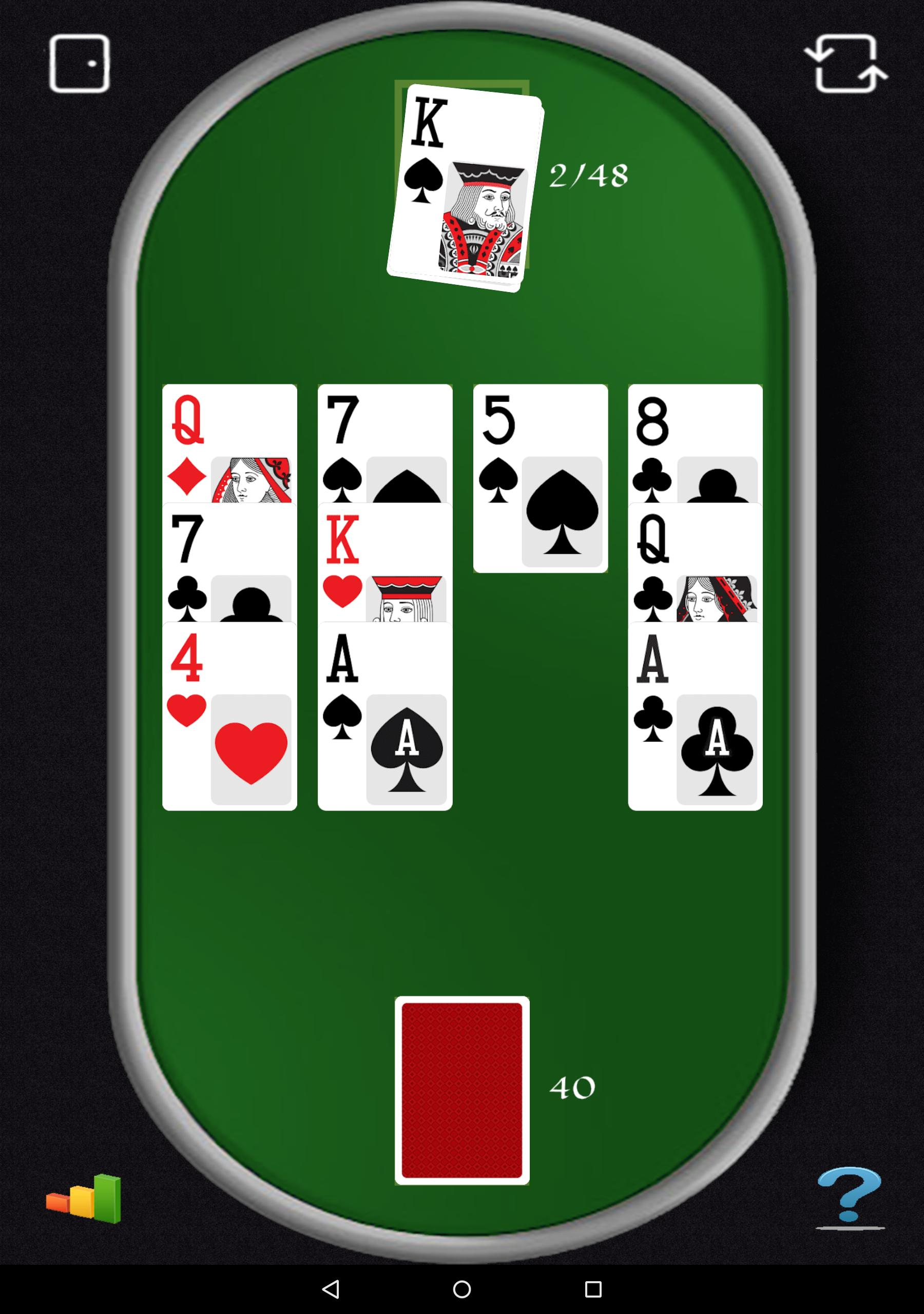 Aces Up Solitaire 5.4 Screenshot 12
