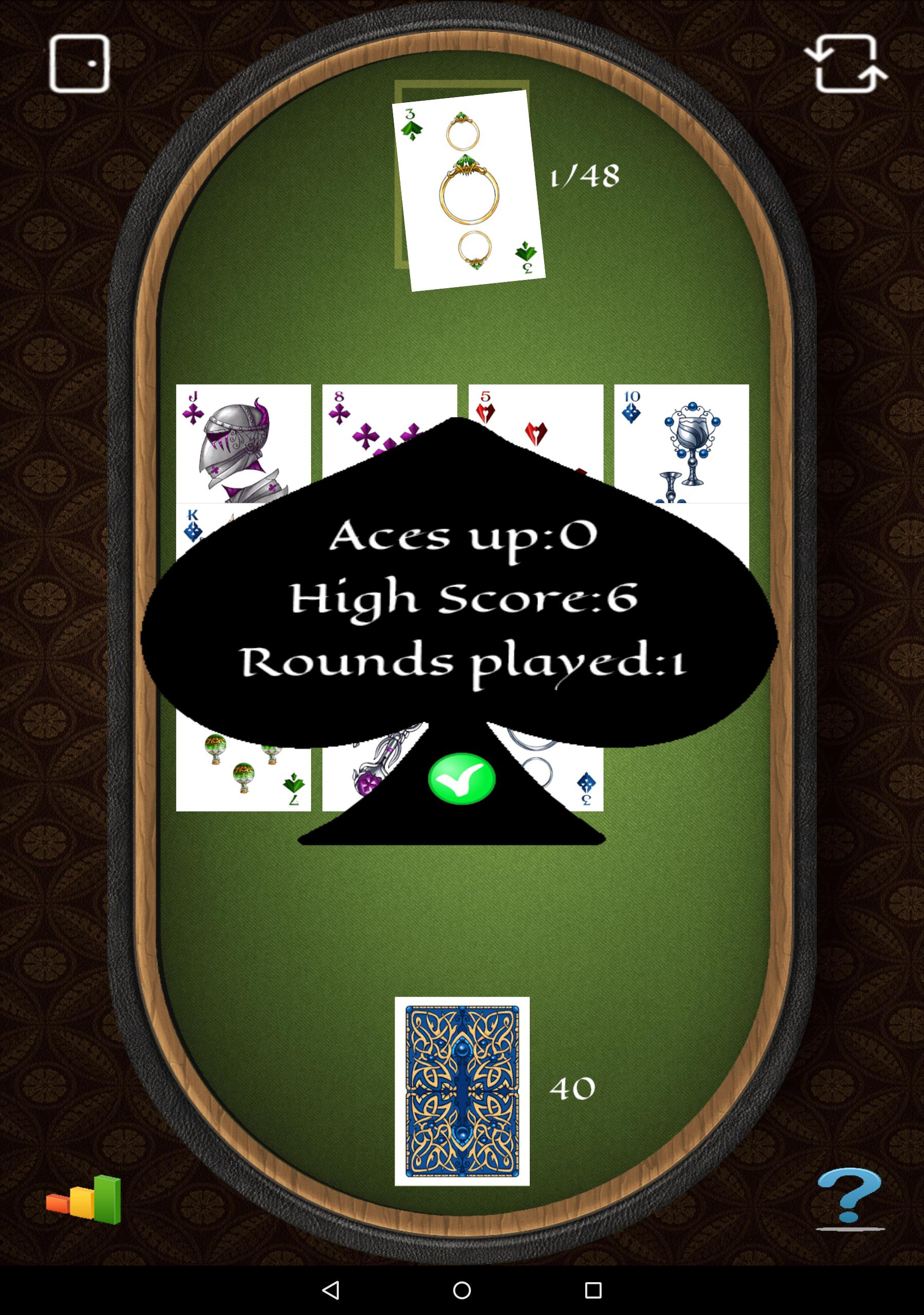 Aces Up Solitaire 5.4 Screenshot 16