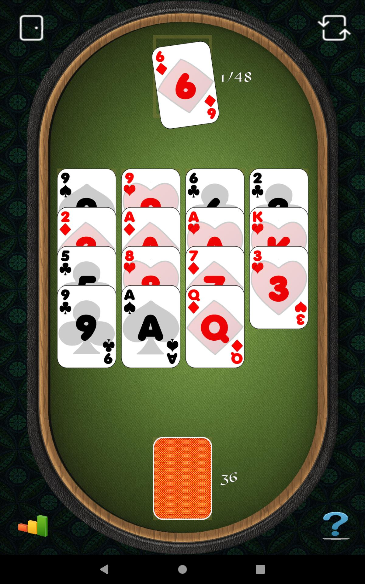 Aces Up Solitaire 5.4 Screenshot 18