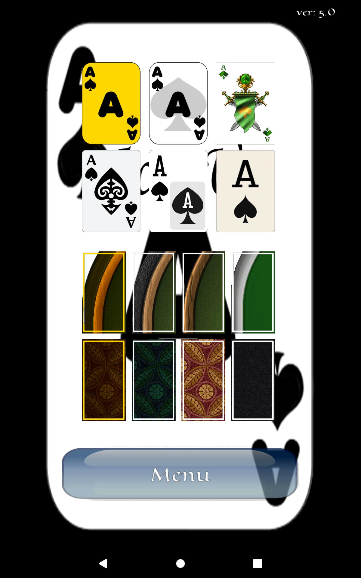 Aces Up Solitaire 5.4 Screenshot 19