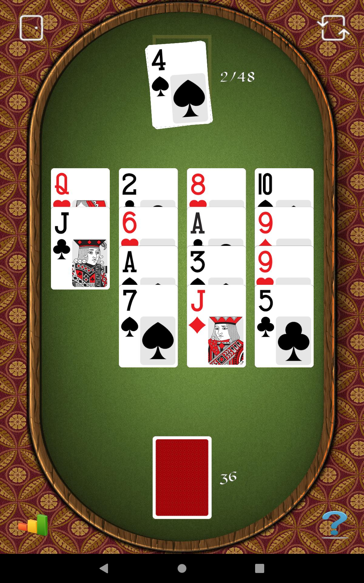 Aces Up Solitaire 5.4 Screenshot 23