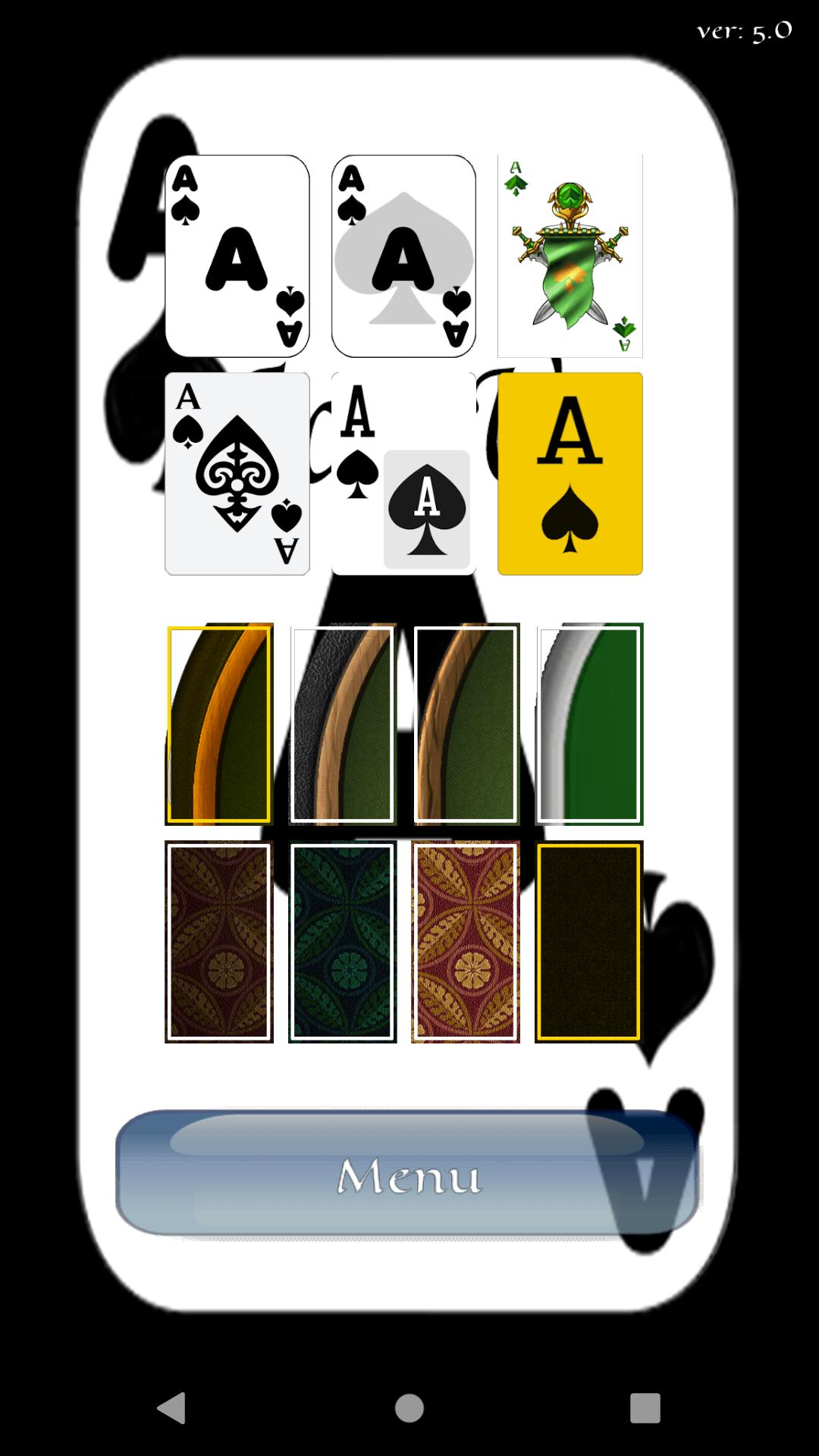 Aces Up Solitaire 5.4 Screenshot 3