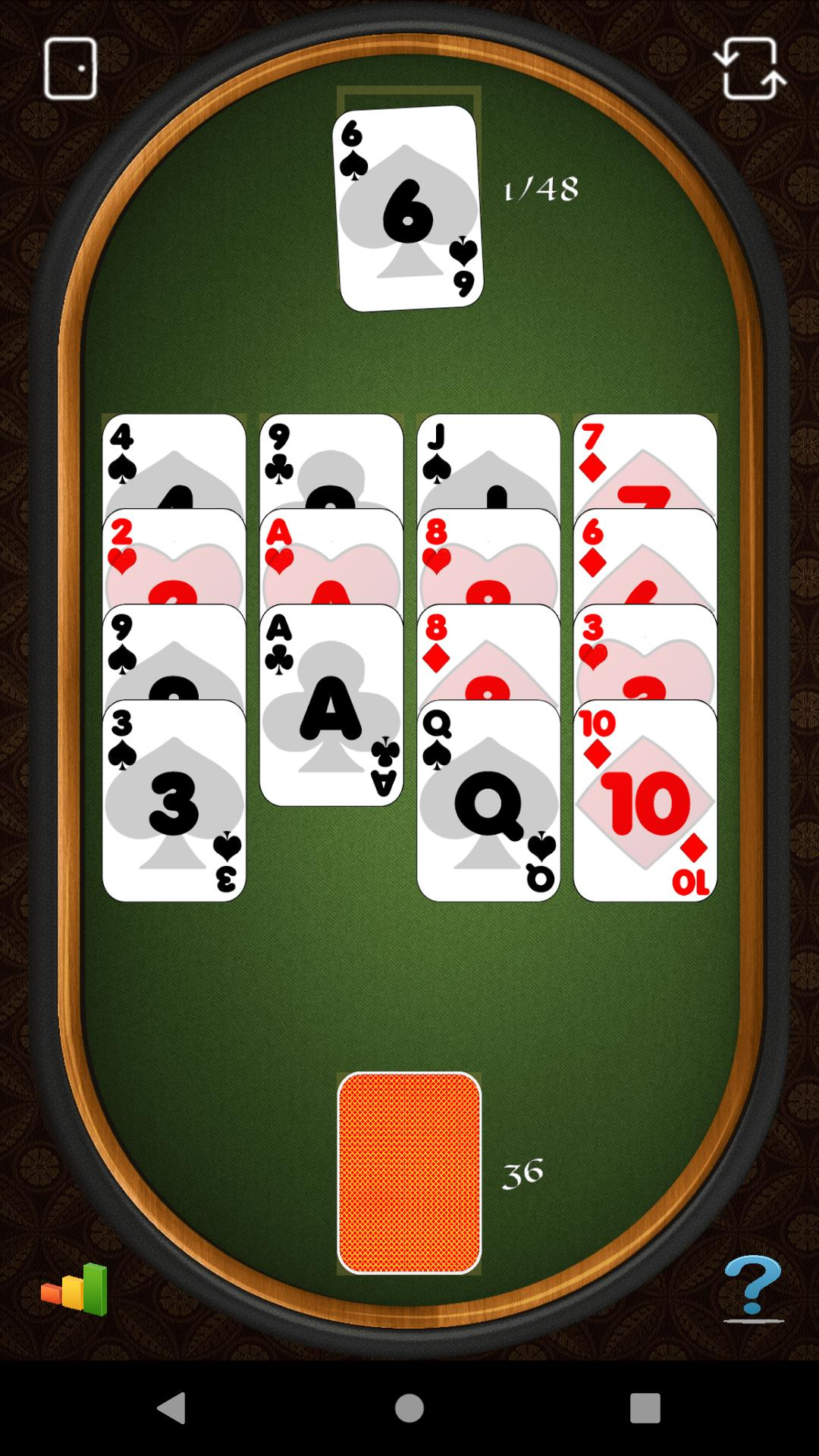 Aces Up Solitaire 5.4 Screenshot 8
