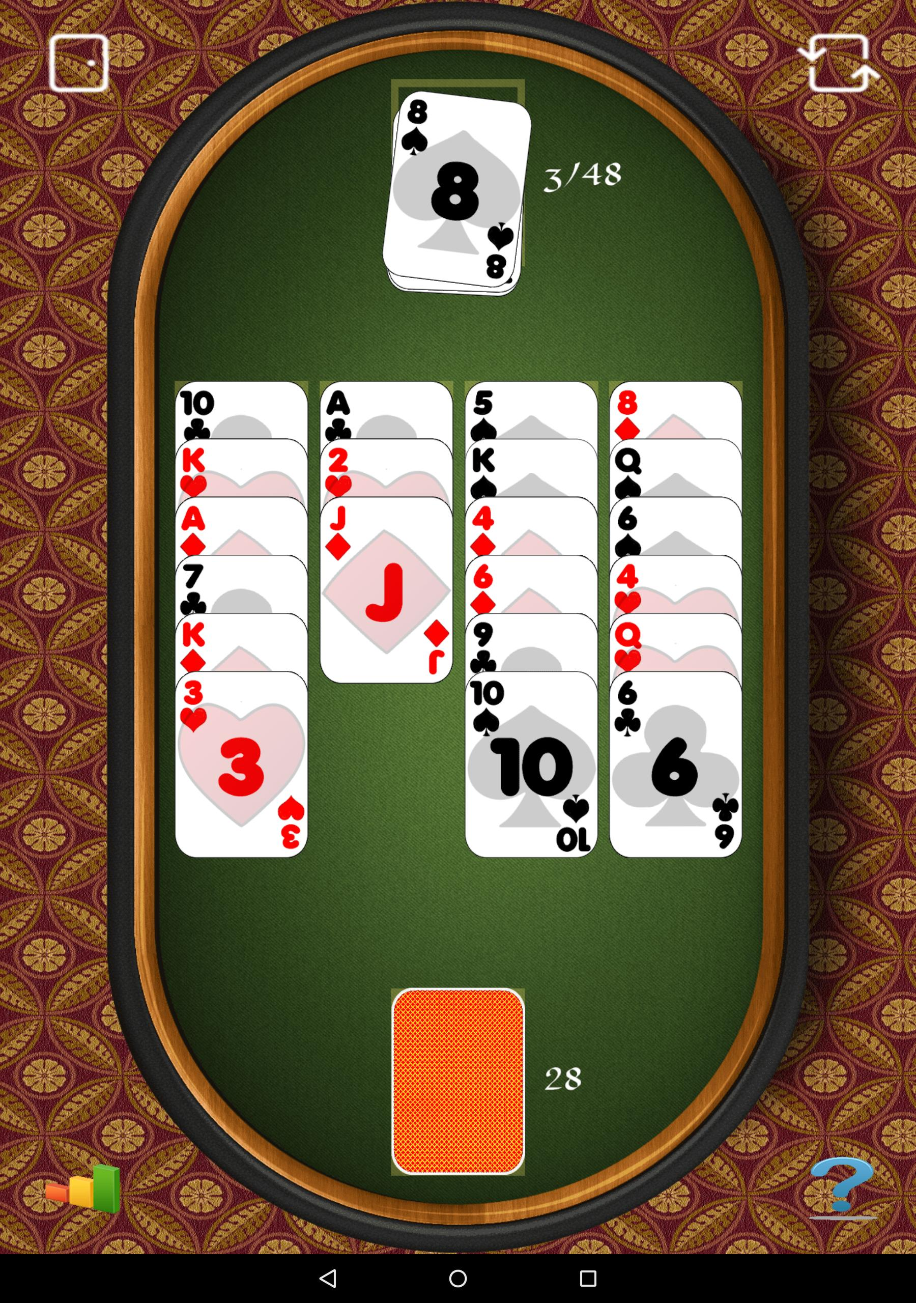 Aces Up Solitaire 5.4 Screenshot 9