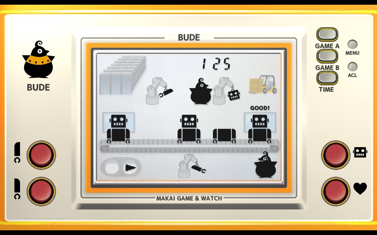 Makai Game & Watch No.09 - BUDE 1.10.1 Screenshot 1