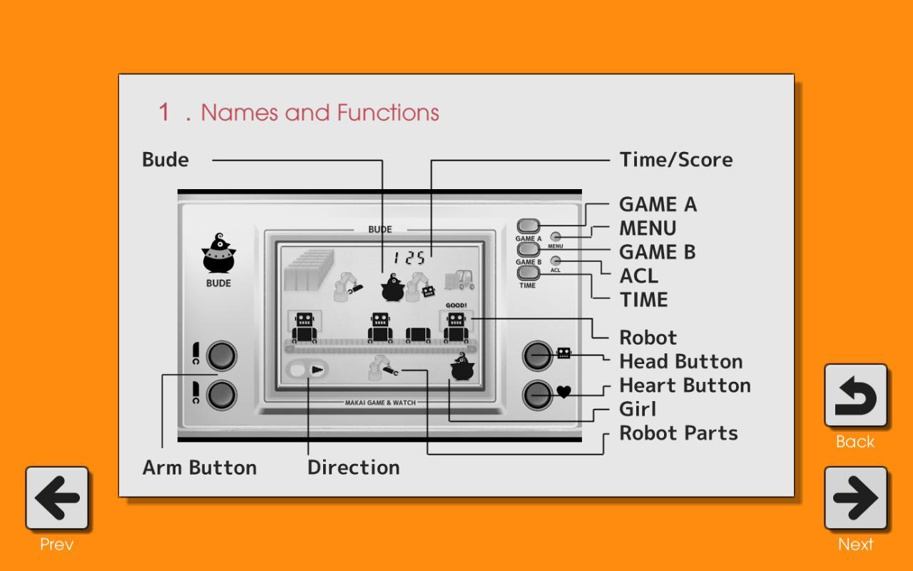 Makai Game & Watch No.09 - BUDE 1.10.1 Screenshot 5