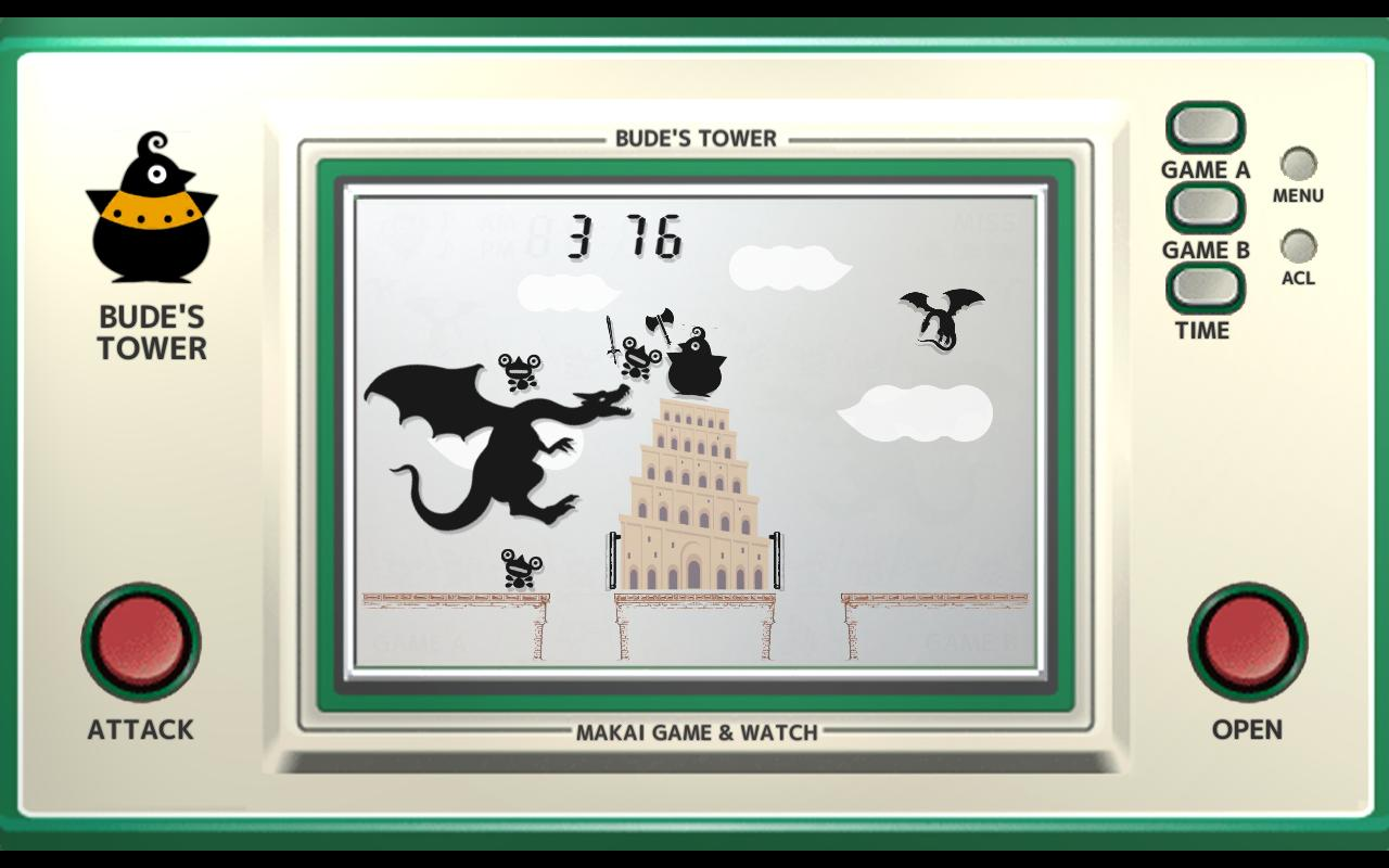 Makai Game & Watch No.15 - BUDE'S TOWER 1.10.1 Screenshot 1
