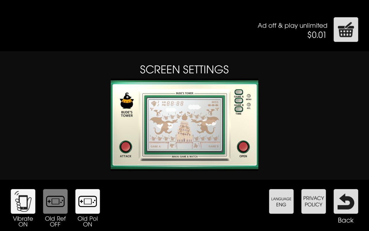 Makai Game & Watch No.15 - BUDE'S TOWER 1.10.1 Screenshot 7