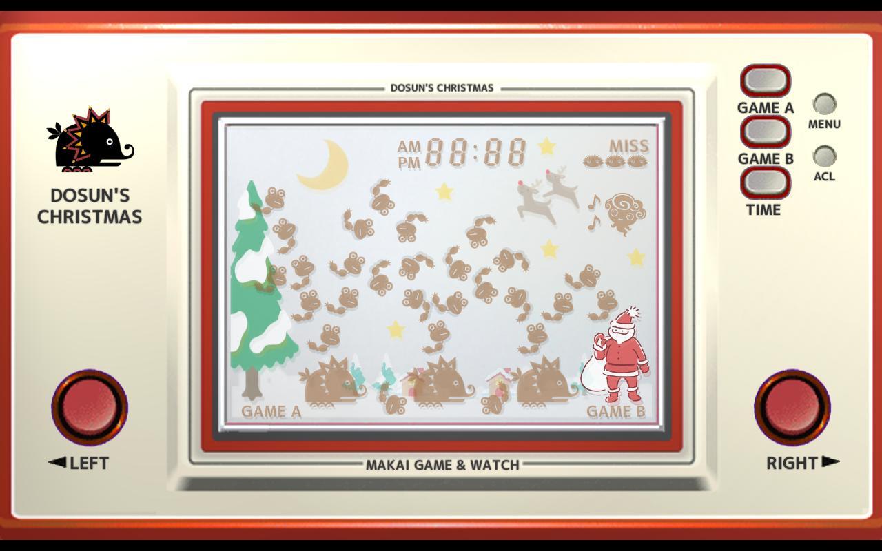 Makai Game & Watch No.07 - DOSUN'S CHRISTMAS 1.10.1 Screenshot 3