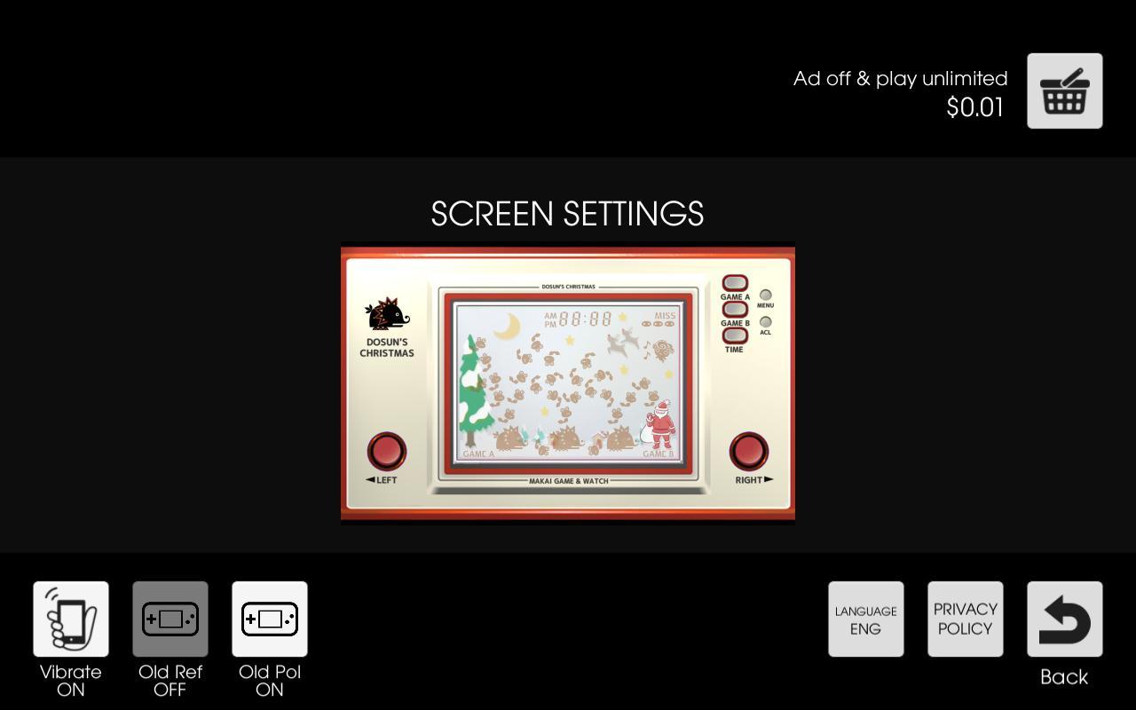 Makai Game & Watch No.07 - DOSUN'S CHRISTMAS 1.10.1 Screenshot 7