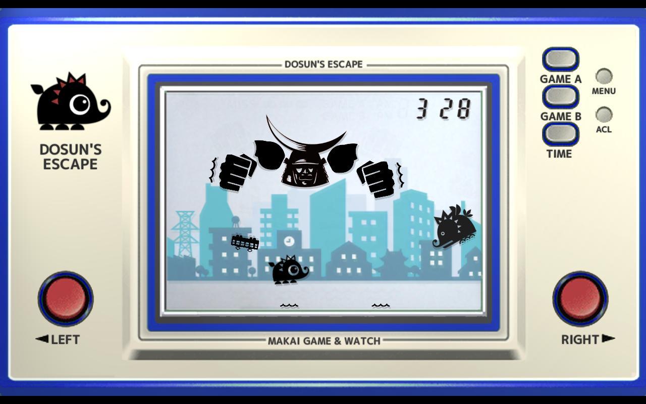 Makai Game & Watch No.11 - DOSUN'S ESCAPE 1.10.1 Screenshot 1