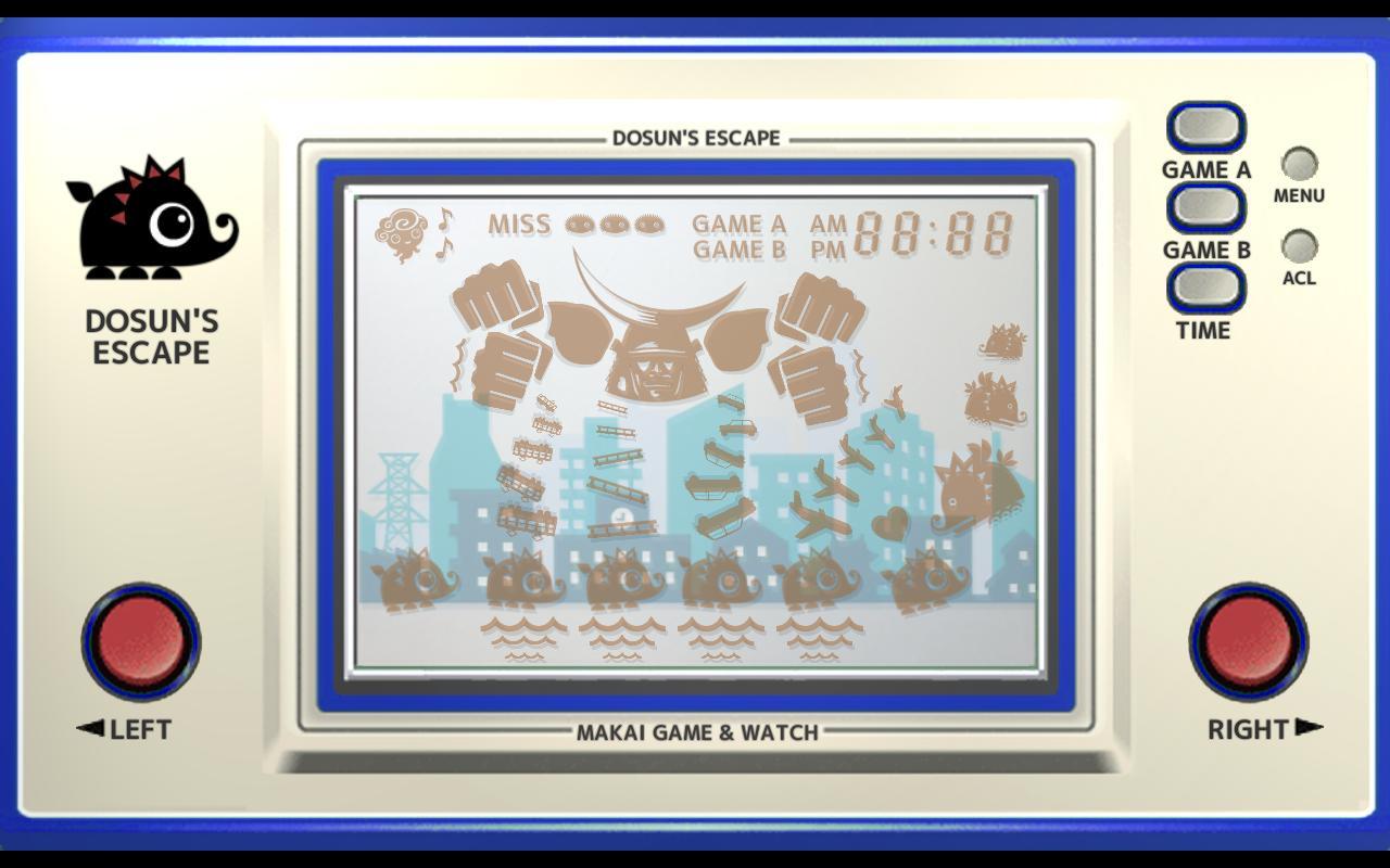Makai Game & Watch No.11 - DOSUN'S ESCAPE 1.10.1 Screenshot 3