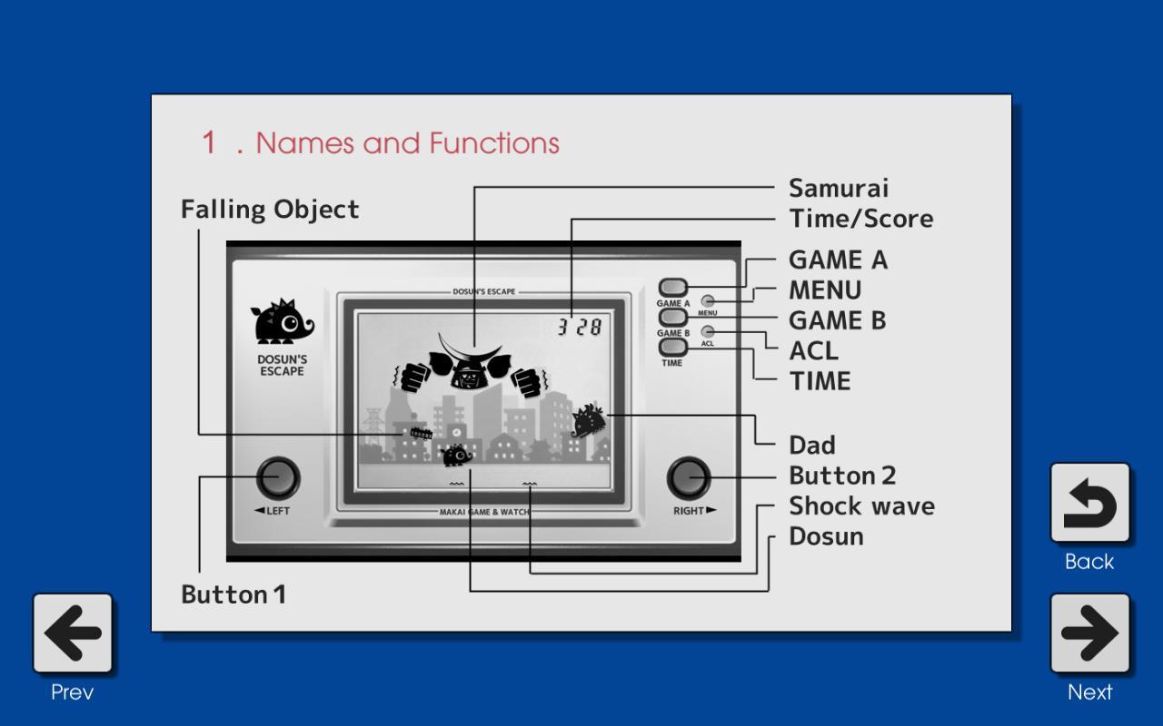 Makai Game & Watch No.11 - DOSUN'S ESCAPE 1.10.1 Screenshot 5