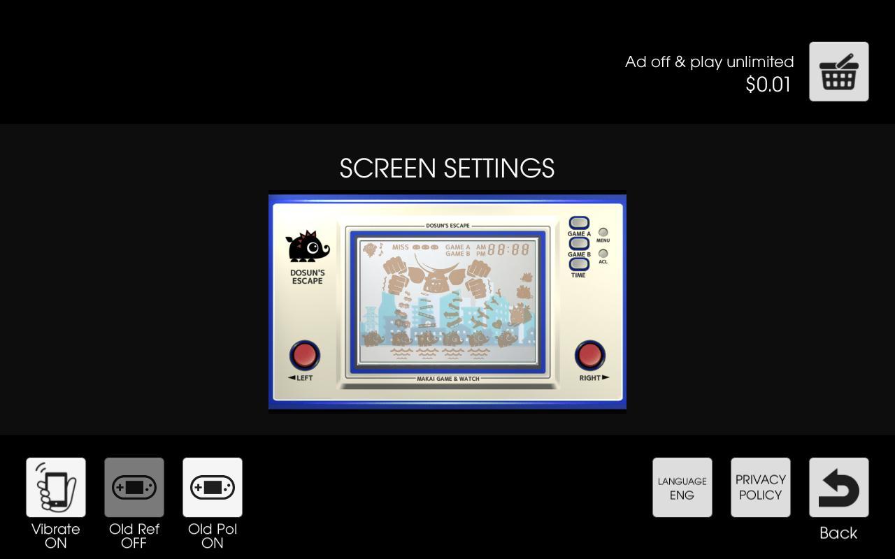 Makai Game & Watch No.11 - DOSUN'S ESCAPE 1.10.1 Screenshot 7