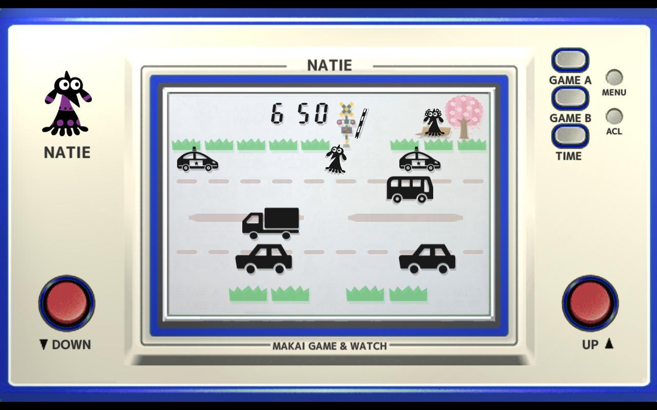 Makai Game & Watch No.08 - NATIE 1.10.1 Screenshot 1