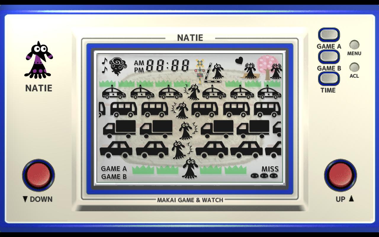 Makai Game & Watch No.08 - NATIE 1.10.1 Screenshot 2