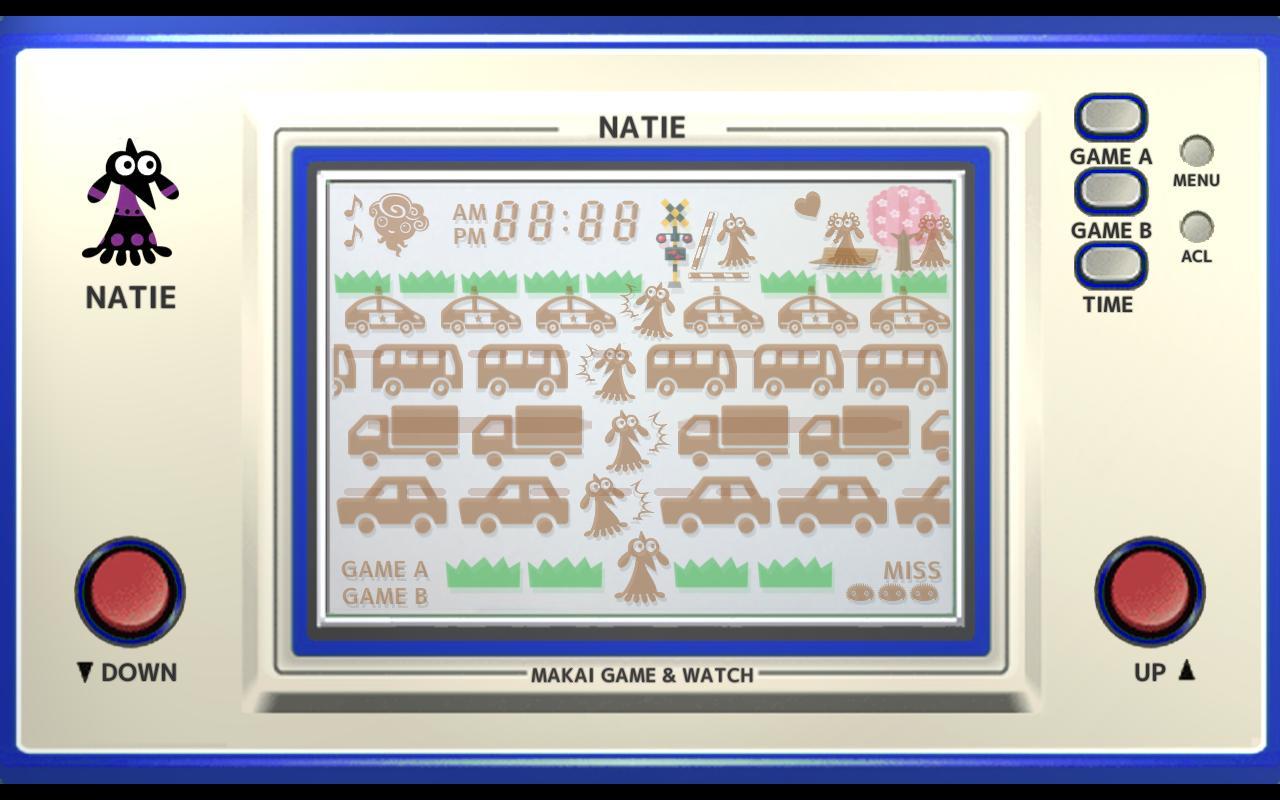 Makai Game & Watch No.08 - NATIE 1.10.1 Screenshot 3