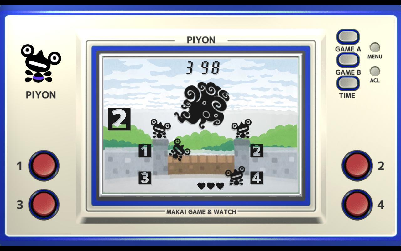 Makai Game & Watch No.02 - PIYON 1.10.1 Screenshot 1