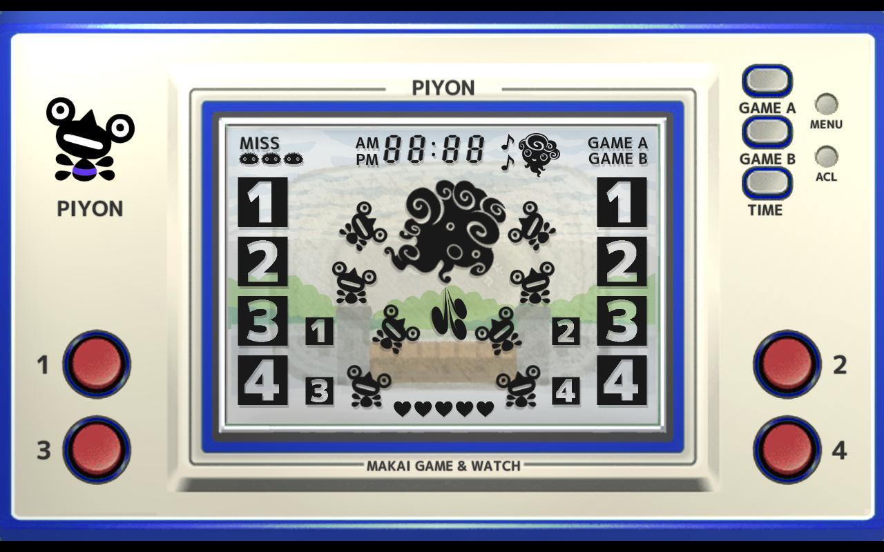 Makai Game & Watch No.02 - PIYON 1.10.1 Screenshot 2