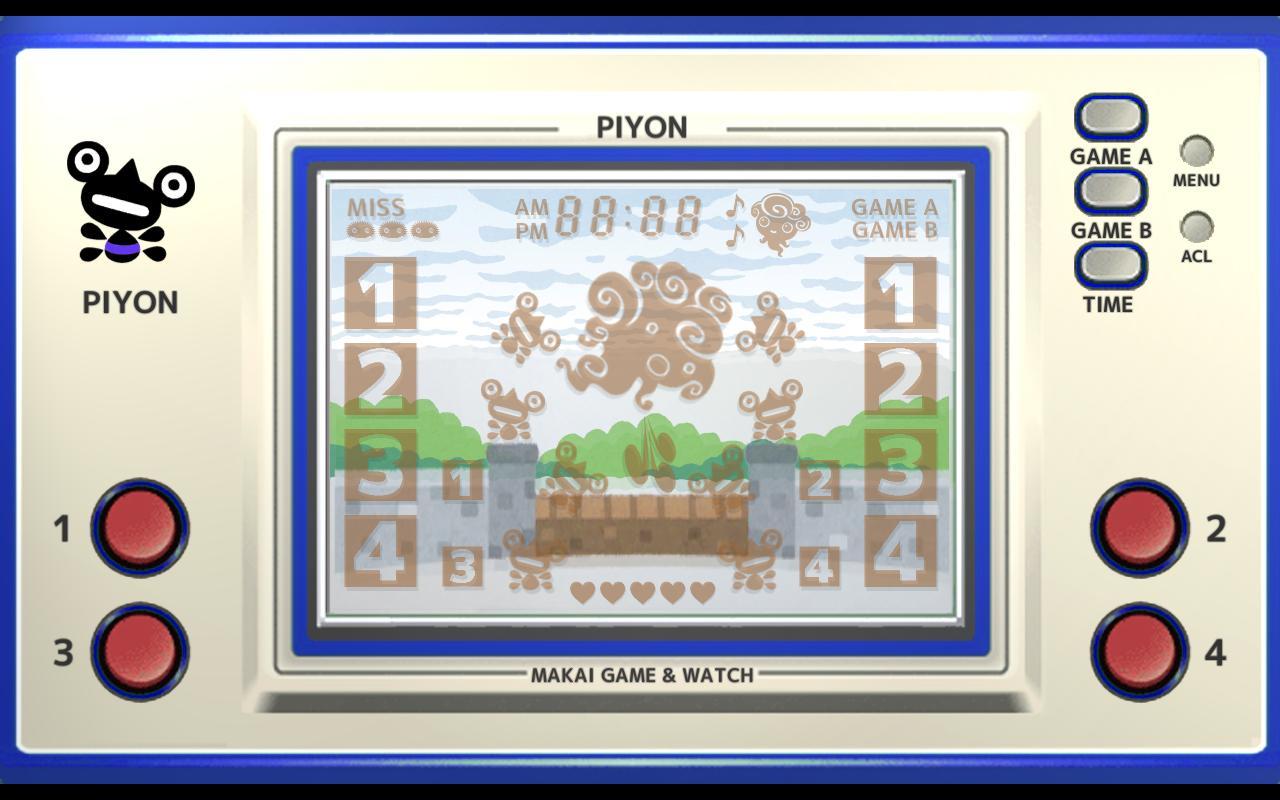 Makai Game & Watch No.02 - PIYON 1.10.1 Screenshot 3
