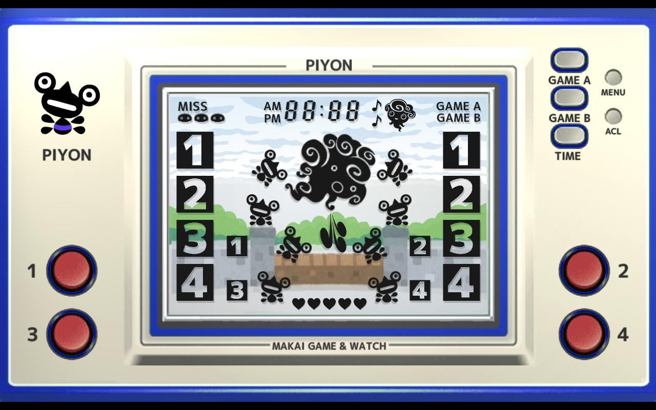 Makai Game & Watch No.02 - PIYON 1.10.1 Screenshot 6