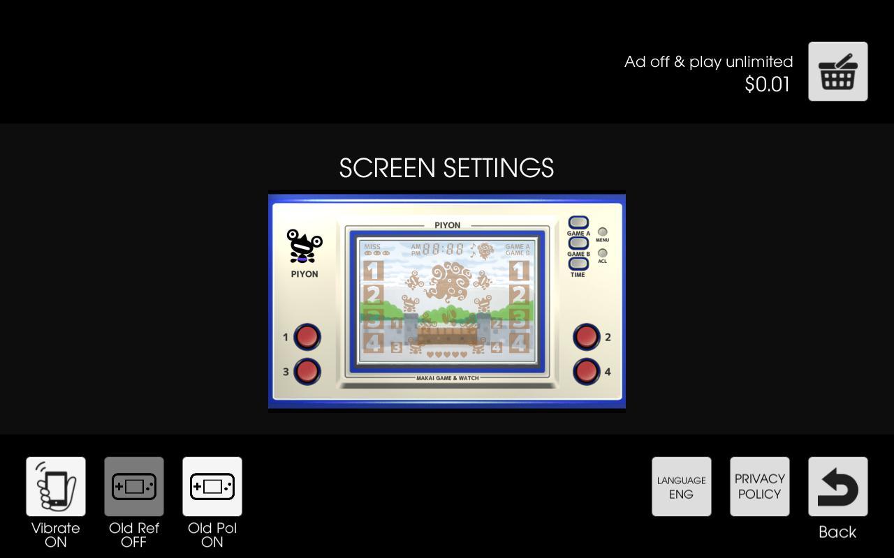 Makai Game & Watch No.02 - PIYON 1.10.1 Screenshot 7
