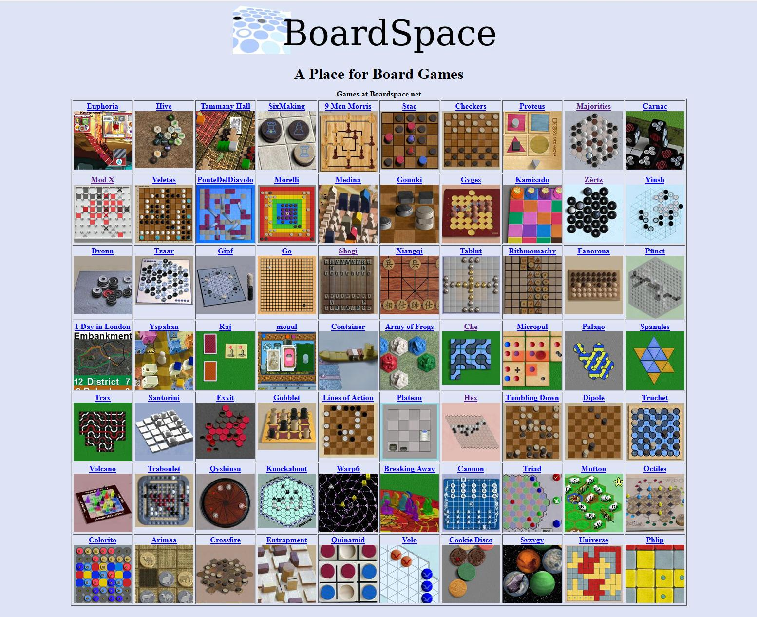 Boardspace.net 4.48 Screenshot 1