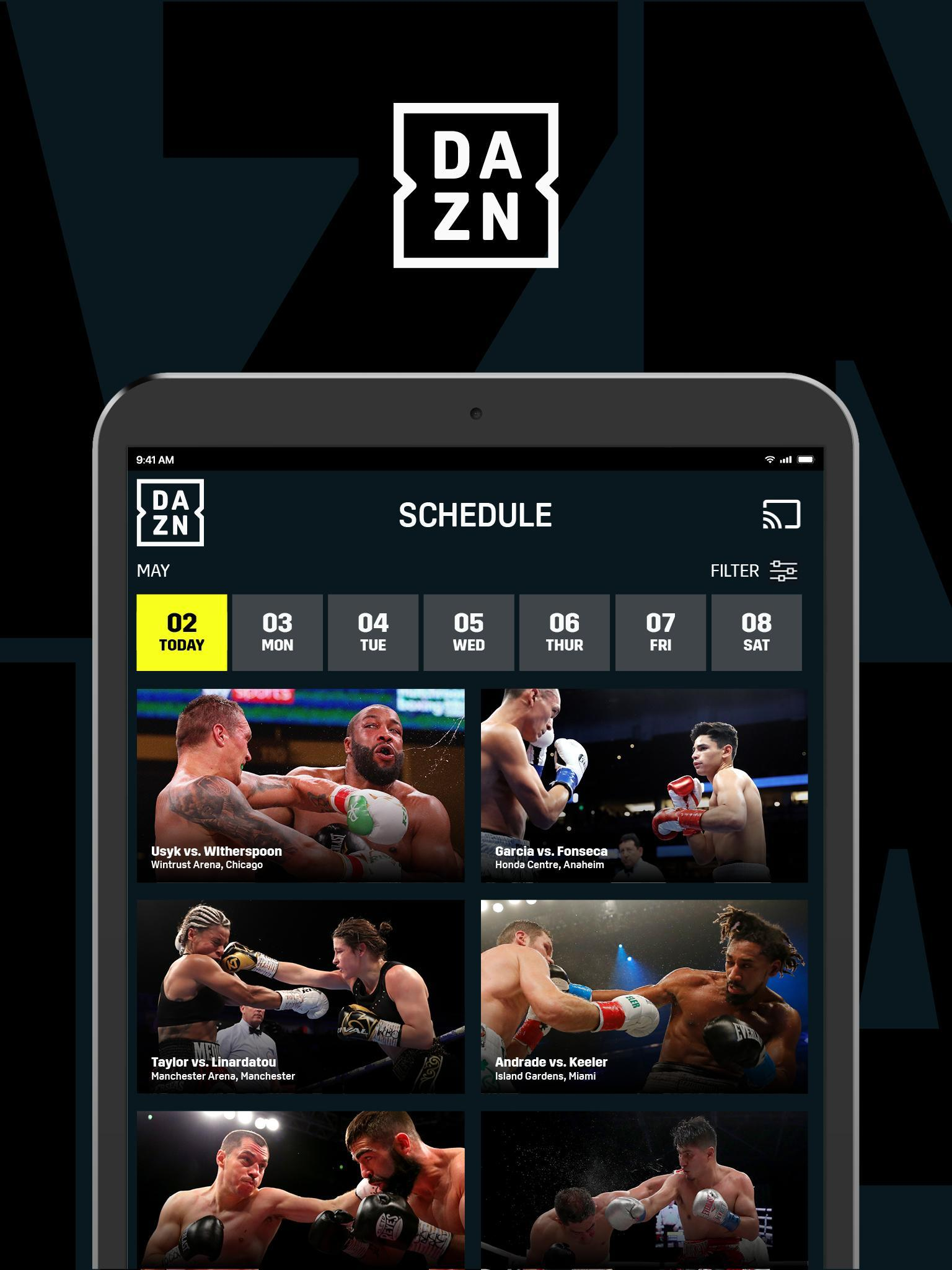 DAZN Live Fight Sports: Boxing, MMA & More 1.69.13 Screenshot 14