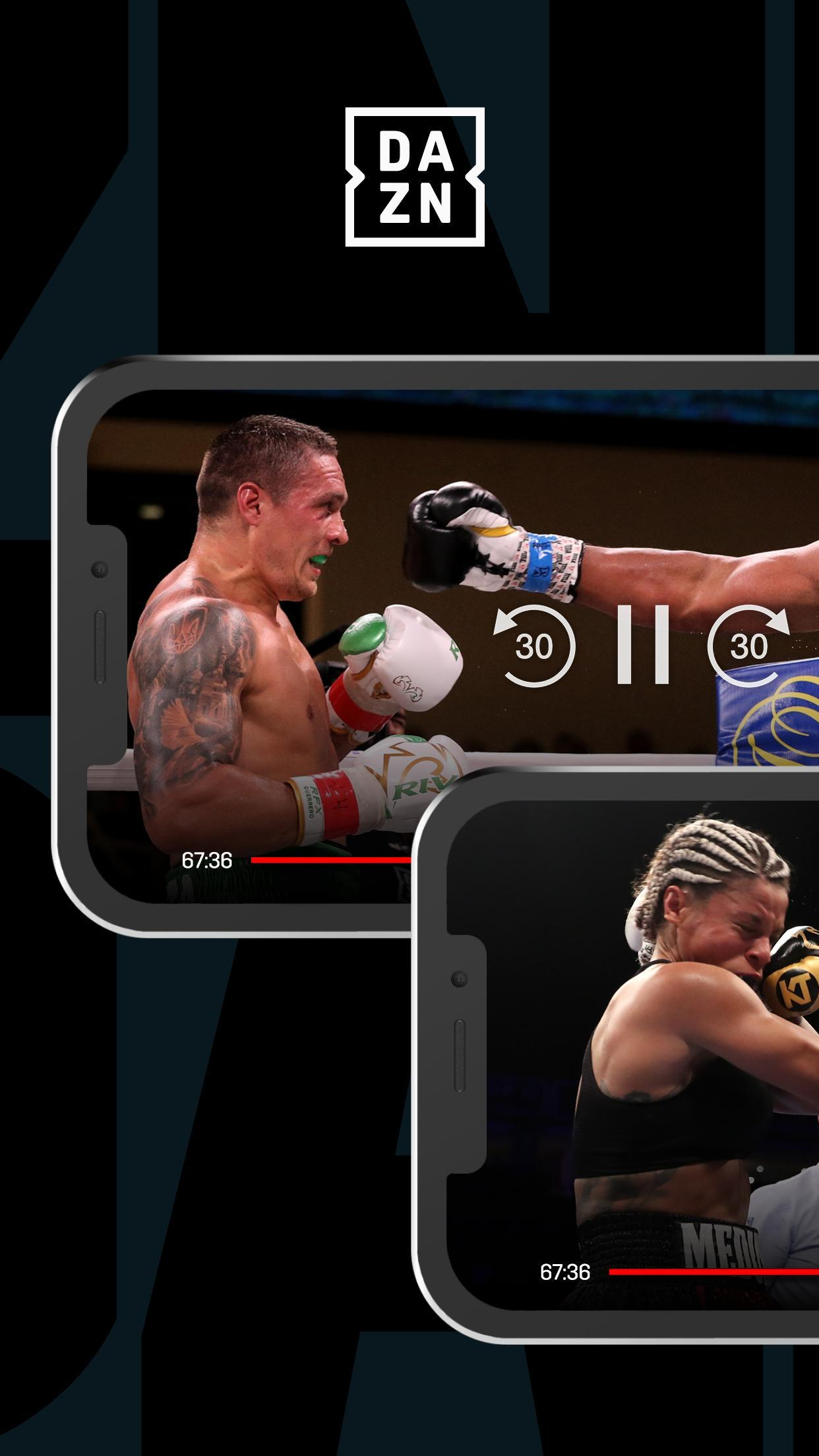 DAZN Live Fight Sports: Boxing, MMA & More 1.69.13 Screenshot 3