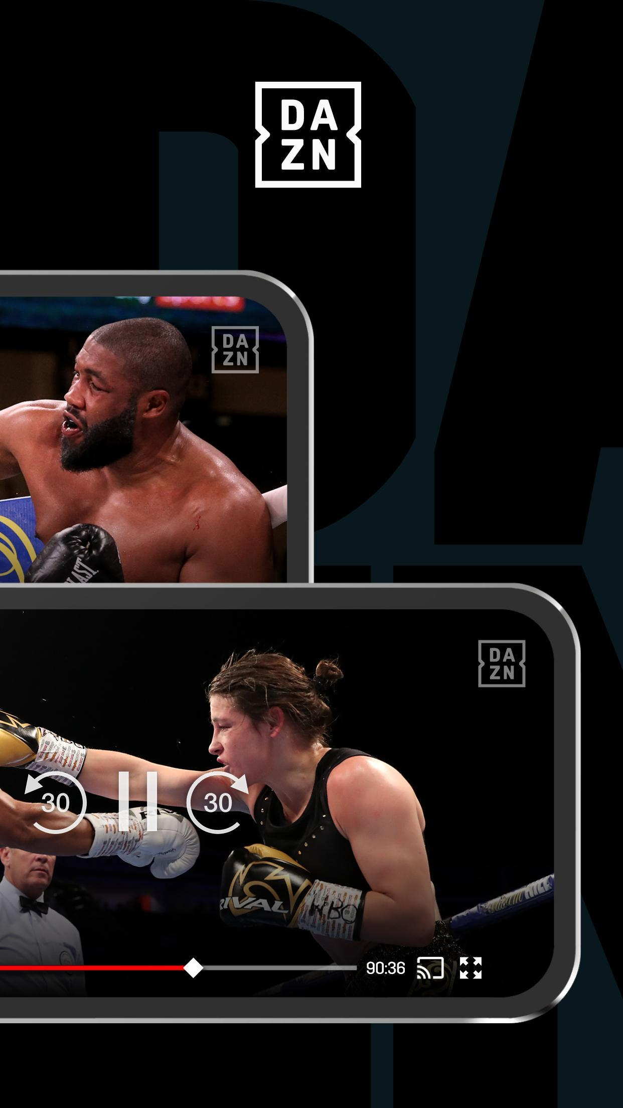 DAZN Live Fight Sports: Boxing, MMA & More 1.69.13 Screenshot 4