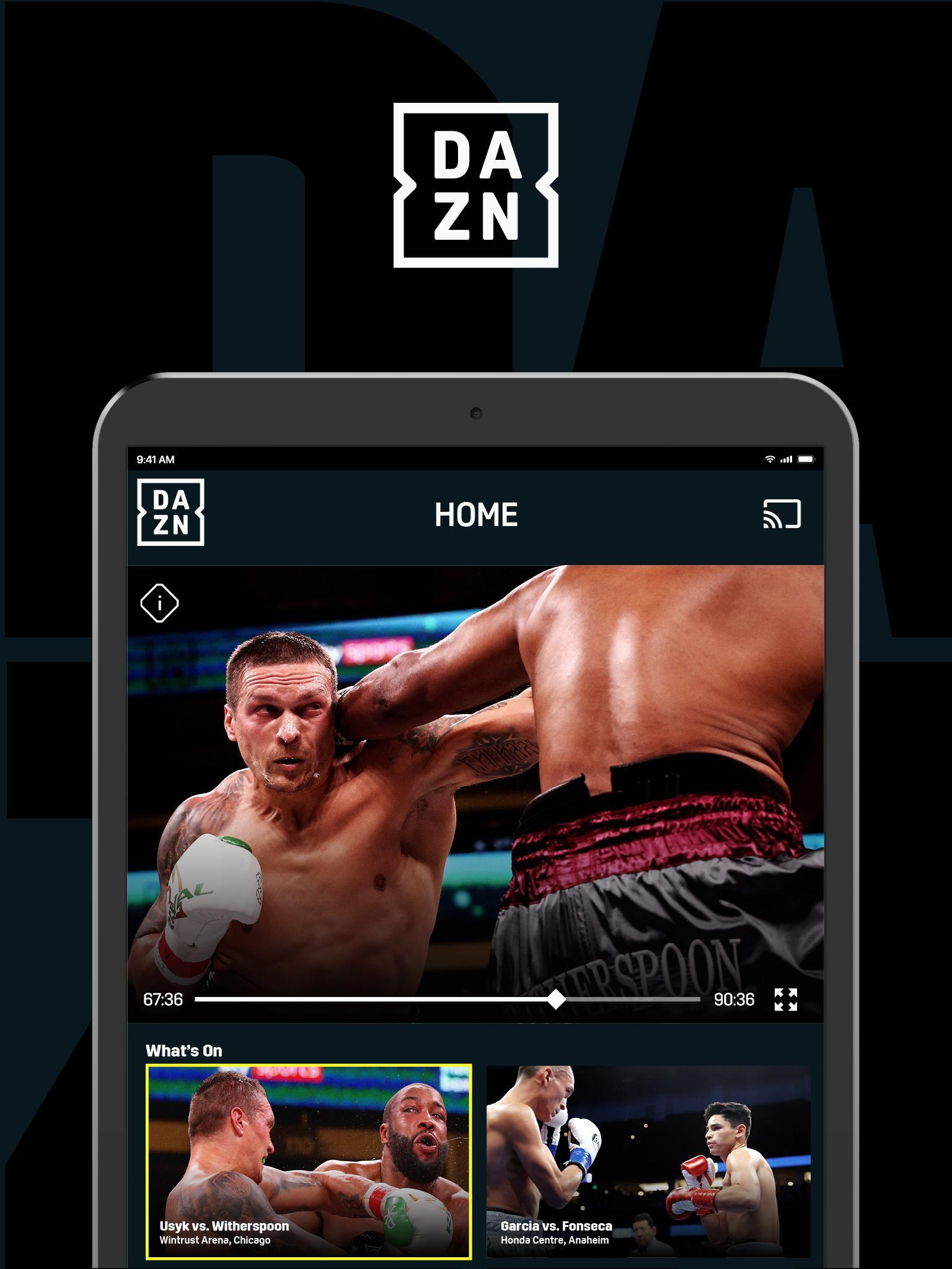 DAZN Live Fight Sports: Boxing, MMA & More 1.69.13 Screenshot 7