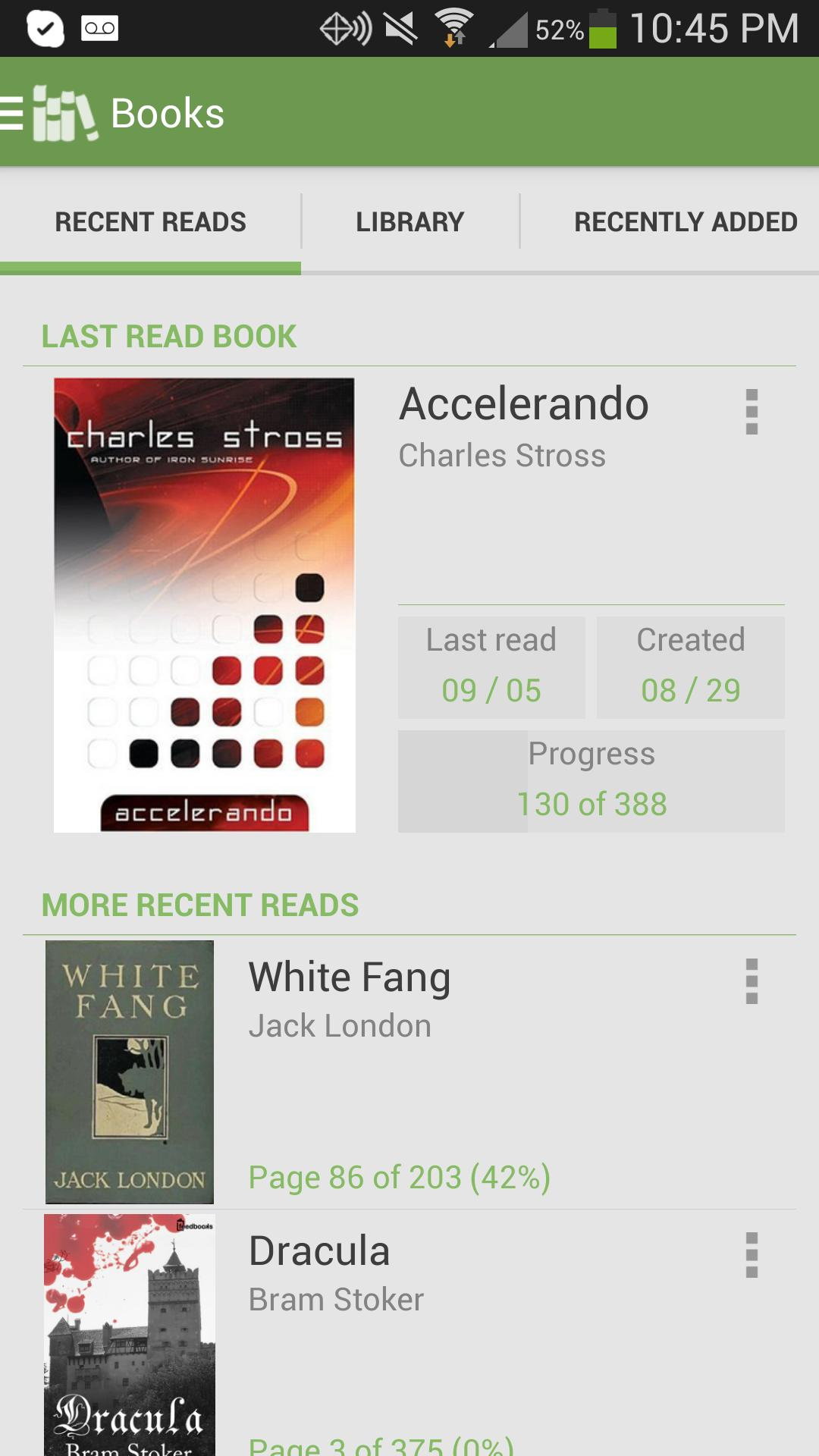 Aldiko Book Reader 3.1.3 Screenshot 1