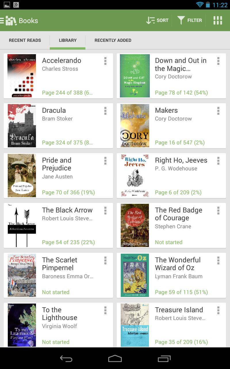 Aldiko Book Reader 3.1.3 Screenshot 14