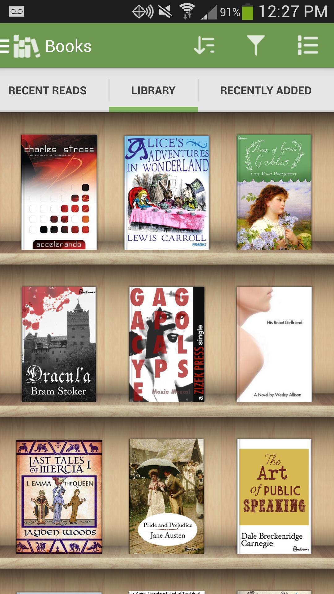 Aldiko Book Reader 3.1.3 Screenshot 2