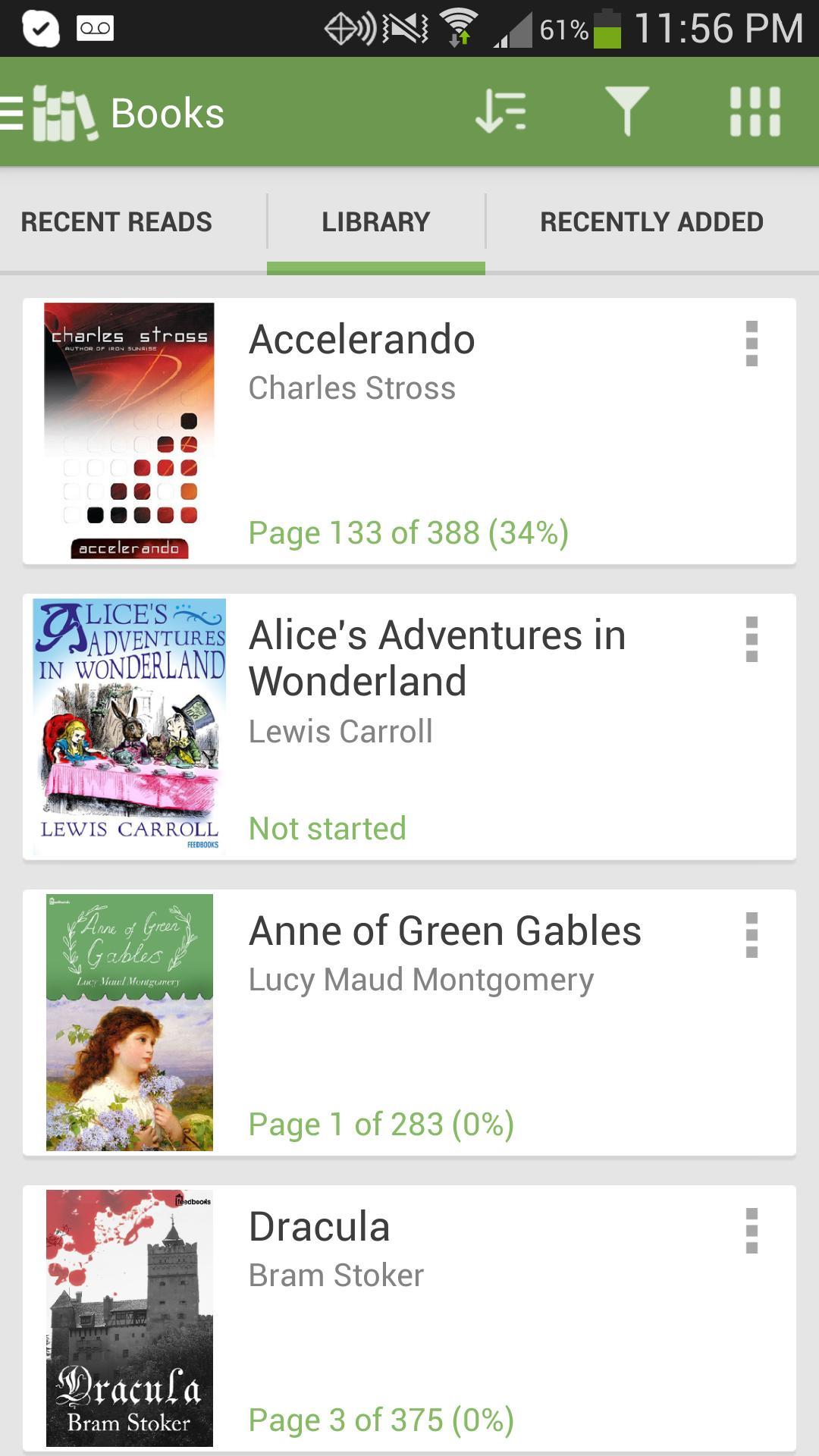 Aldiko Book Reader 3.1.3 Screenshot 3