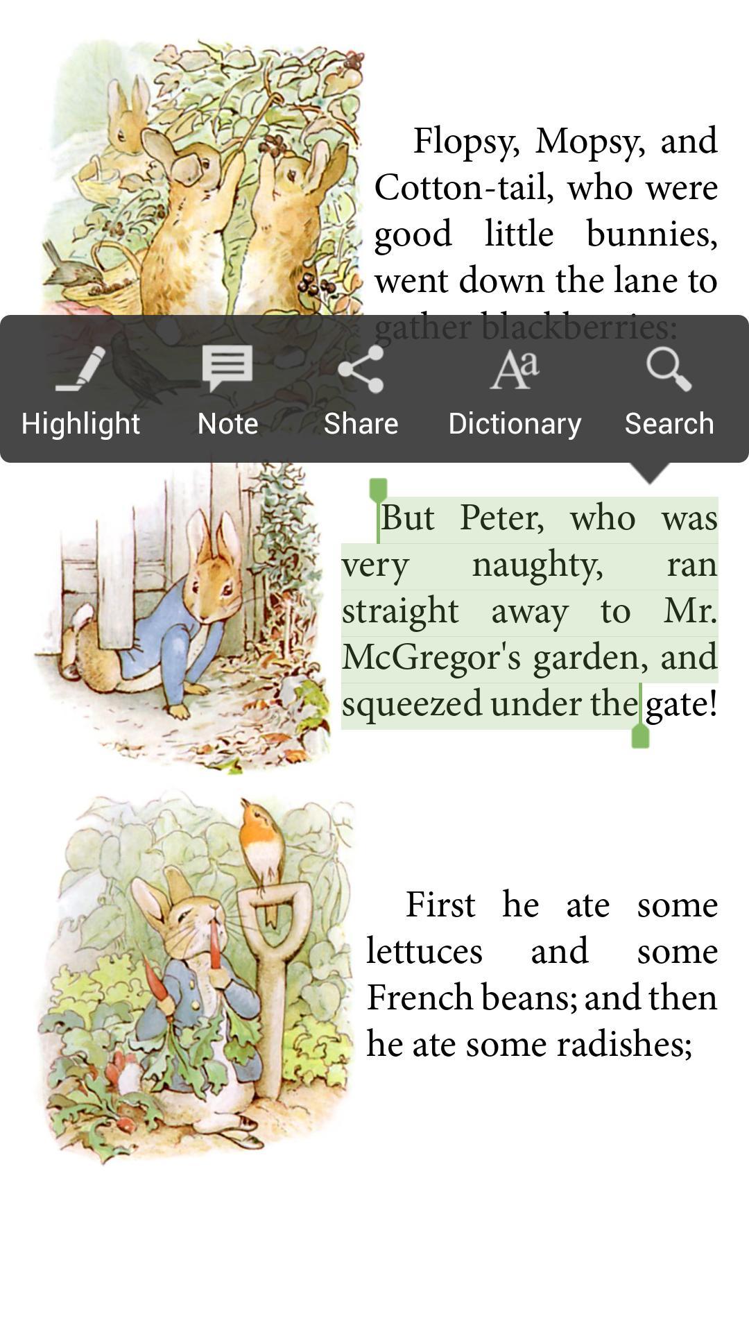 Aldiko Book Reader 3.1.3 Screenshot 6