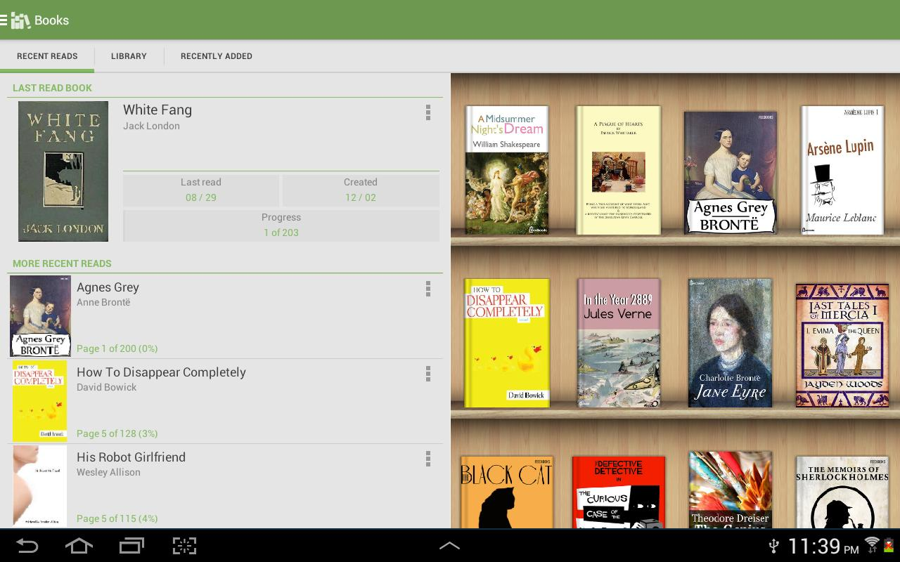 Aldiko Book Reader 3.1.3 Screenshot 8