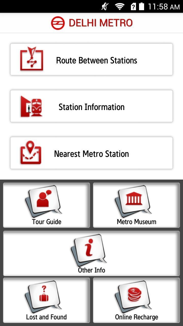 Delhi Metro Rail 6.3 Screenshot 2