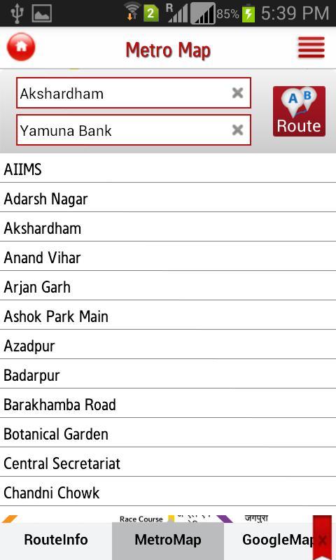 Delhi Metro Rail 6.3 Screenshot 3
