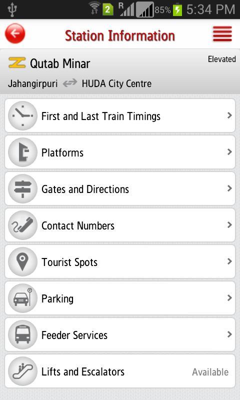Delhi Metro Rail 6.3 Screenshot 7