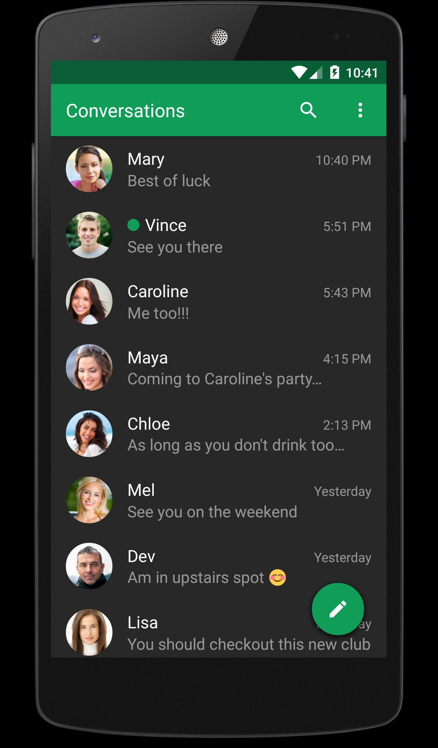 chomp SMS 8.11 Screenshot 2