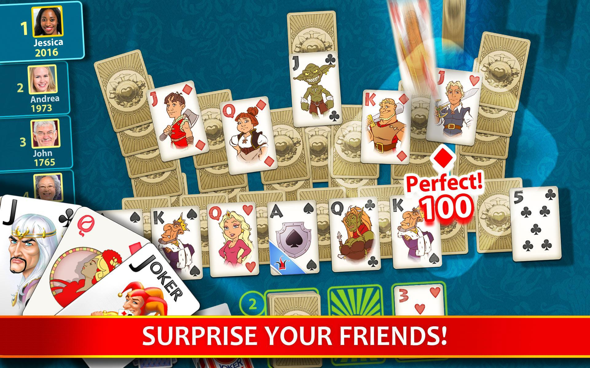 Solitaire Perfect Match 2020.7.2048 Screenshot 13