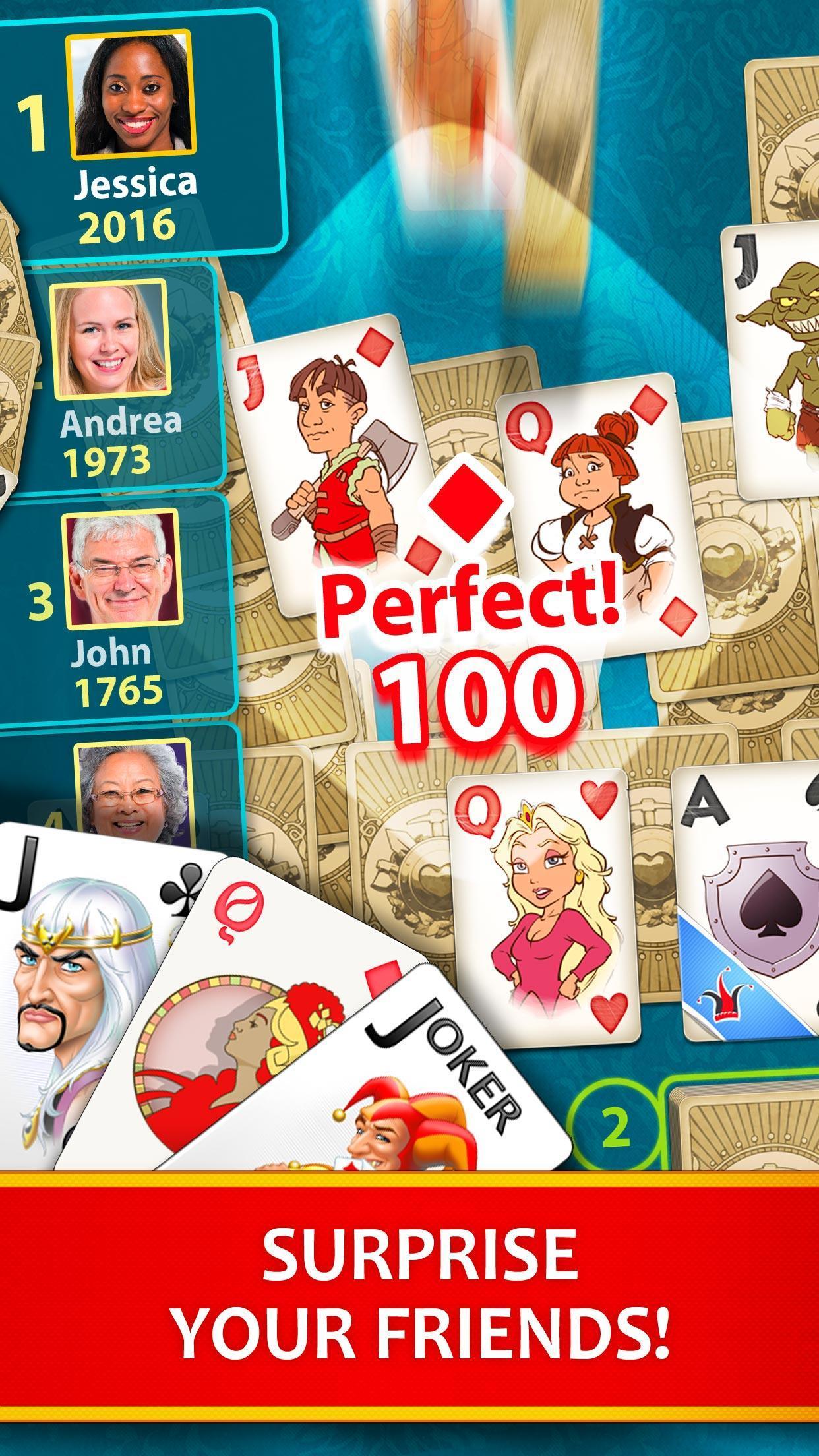 Solitaire Perfect Match 2020.7.2048 Screenshot 3