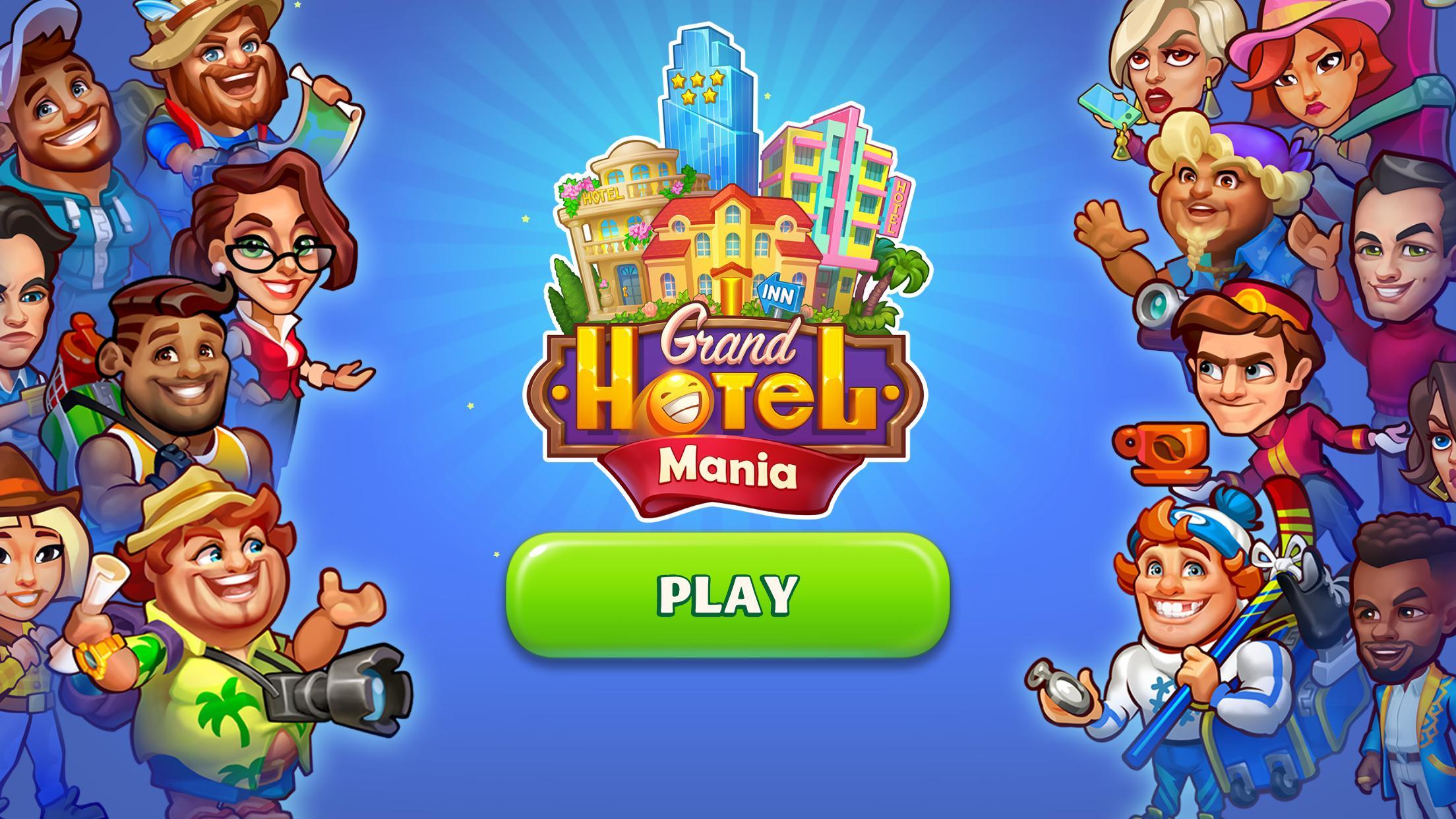 Grand Hotel Mania – Hotel Adventure Game 1.12.2.1 Screenshot 1